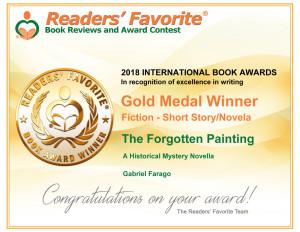 Readers' Favorite Award