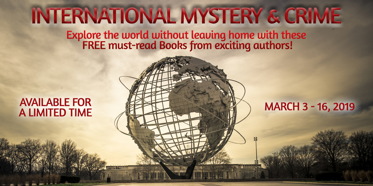 March 2019 Giveaway 2: International Mystery & Crime - Author