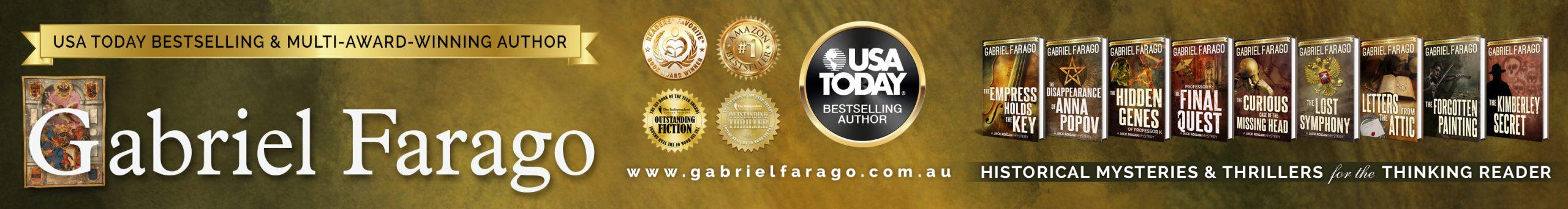 Author Gabriel Farago Official Website